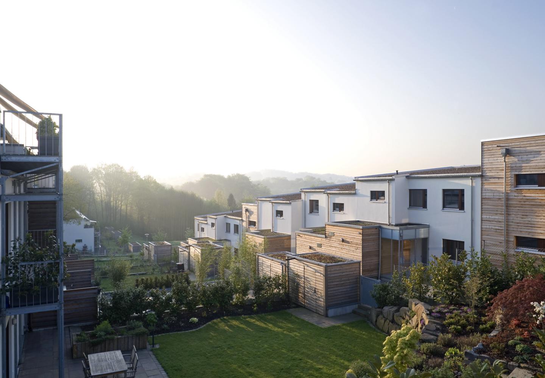 Architekt Leverkusen passivhaussiedlung am leimbacher berg in leverkusen tr architekten